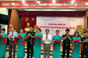 Khai mạc Triển lãm 'Chủ tịch Hồ Chí Minh với ngành hậu cần quân đội'