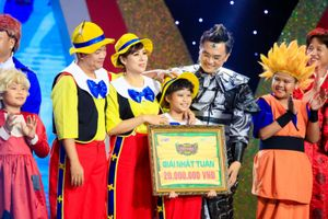 Cô bé Kim Hòa giành chiến thắng nhất tuần Tiếu Lâm Tứ Trụ Nhí