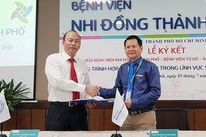 Bệnh viện Nhi đồng Thành phố, Từ Dũ, Hùng Vương hợp tác toàn diện về Sản - Nhi