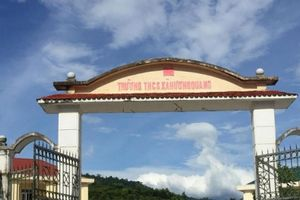 Hà Tĩnh: Trường học hơn 16 tỷ đồng xây xong rồi 'vứt bỏ'