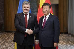 Ukraine sa vòng tay Trung Quốc