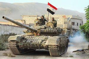 Quân đội Syria tốc chiến chiếm thị trấn gần cao nguyên Golan