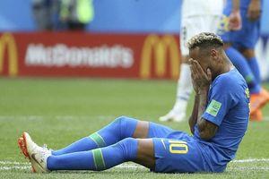Thống kê khó tin: Kịch sĩ Neymar và 13 phút, 50 giây ăn vạ ở World Cup 2018