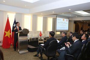 Việt Nam-Chile cùng thúc 'cỗ xe' thương mại, đầu tư