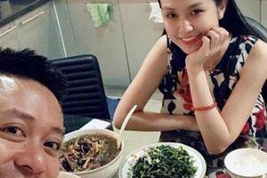 Tuấn Hưng hãnh diện khoe bữa cơm được vợ đảm hot girl vào bếp nấu