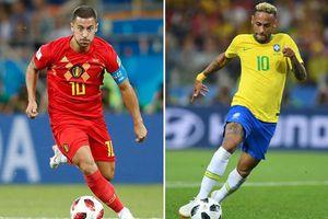 Kèo tứ kết World Cup 2018: Hơn về đẳng cấp, Brazil sẽ đè bẹp Bỉ
