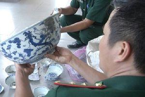 Quảng Ngãi: Chuẩn bị trục vớt tàu cổ tại vùng biển Dung Quất
