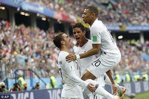 Uruguay không Cavani vô hại,Pháp dễ dàng vào bán kết World Cup