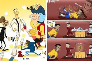 Biếm họa 24h: MXH 'phát sốt' vì Ronaldo tới Juventus và kịch sĩ Neymar
