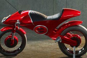 Ngây ngất siêu xe điện E1 Elasticycle dành cho 'siêu anh hùng'