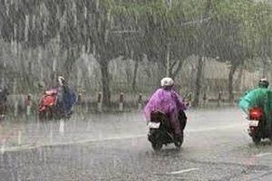 Dự báo thời tiết 7/7: Bắc Bộ và Thanh Hóa có mưa rào và dông diện rộng