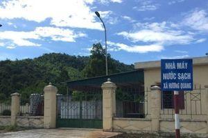 Hà Tĩnh: Hai nhà máy nước 14 tỷ đồng chỉ dùng để... tưới rau