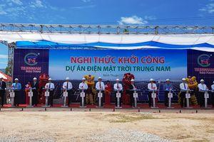Ninh Thuận: Khởi công dự án điện mặt trời gần 5.000 tỷ đồng
