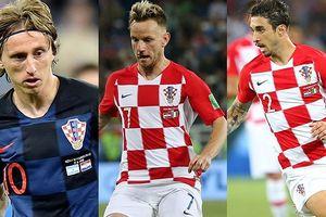 Đội hình dự kiến của Croatia vs Nga: Modric 'tiếp đạn' cho Mandzukic