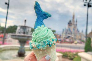 Giải nhiệt ngày hè với bánh kem đuôi nàng tiên cá cực lạ