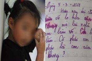Lặng người đọc cuốn nhật ký của bé gái lớp 5: 'Con ghét bố mẹ, ghét tất cả'