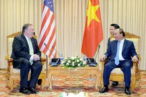 Thủ tướng Nguyễn Xuân Phúc tiếp Ngoại trưởng Hoa Kỳ