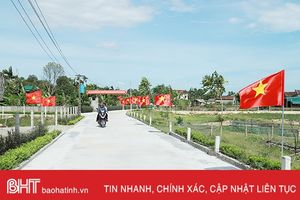 Cẩm Thạch khơi dậy 'lửa phong trào' xây dựng nông thôn mới