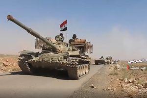 Quân đội Syria điều binh giữ cửa khẩu Jordan, chuẩn bị tấn công Daraa