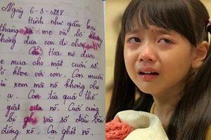 Rớt nước mắt trước trang nhật ký của cô bé lớp 5 cô đơn đến mức bỏ nhà ra đi