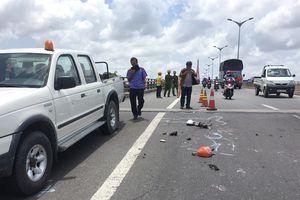Truy được chiếc xe tải bỏ chạy sau tai nạn chết người trên cầu Cần Thơ