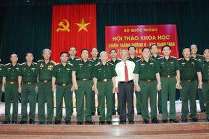 Rút ra nhiều bài học quý về sự nghiệp quân sự, quốc phòng