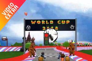Trò chơi đua xe Mario phiên bản Neymar, Ronaldo về nước