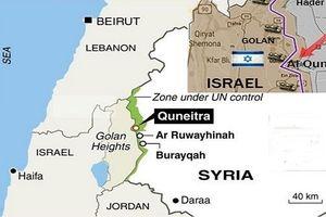 Israel: Syria đánh Quneitra, chống lại ý định Nga