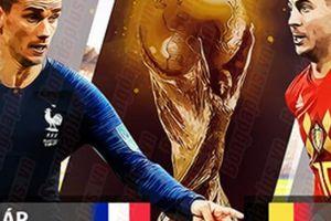 Phân tích tỷ lệ Pháp vs Bỉ (1h00 ngày 11.7): Rình rập chờ thời
