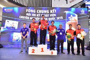 'Hội thi kỹ thuật viên chuyên nghiệp toàn quốc 2018' đã tìm ra người thắng cuộc