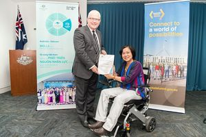 Học bổng hỗ trợ tối đa học viên khuyết tật du học