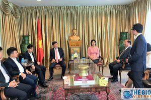 Đẩy mạnh hợp tác giữa các tỉnh, thành phố với các đối tác Singapore