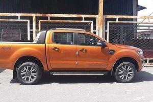Ford Ranger Wildtrak bị cắt giảm trang bị xuất hiện tại đại lý
