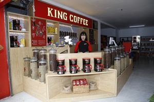 Khai trương chuỗi King Coffe tại Gia Lai