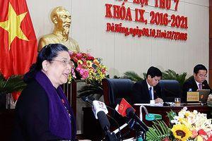 PCT Thường trực Quốc hội Tòng Thị Phóng: Tình hình Đà Nẵng đã ổn định!