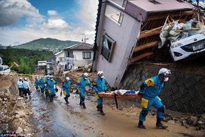 Thảm cảnh lũ lụt, lở đất khiến 141 người thiệt mạng ở Nhật Bản