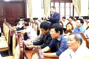 Lịch tiếp xúc cử tri của đại biểu HĐND TP sau Kỳ họp thứ 6, HĐND TP Khóa XV