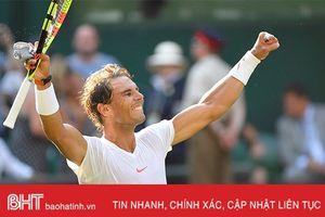 Nadal, Djokovic cùng vào tứ kết Wimbledon 2018