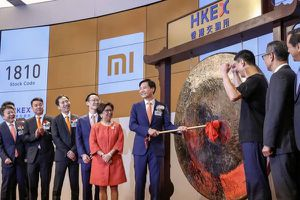 Cổ phiếu Xiaomi gây thất vọng ngày chào sàn