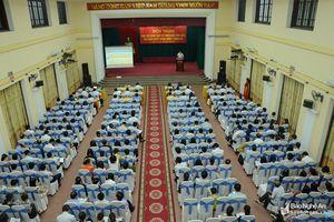 Đảng ủy Khối CCQ tỉnh quán triệt các Nghị quyết Trung ương 7 (khóa XII)