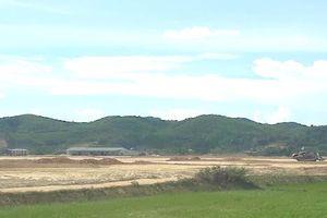 Dự án Nhà máy sản xuất gỗ ván sợi MDF thi công khi chưa được bàn giao đất