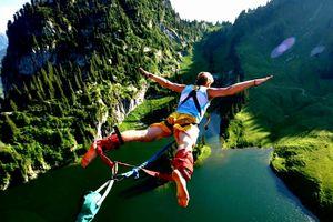 8 địa điểm nhảy bungee mạo hiểm nhất thế giới