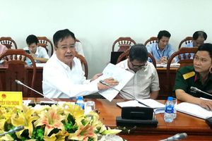 Lãnh đạo tỉnh bác vị trí Công ty Hồ Tràm đã khảo sát làm sân bay