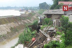 Sạt lở bờ kè thủy điện Sông Lô 2, hàng chục hộ dân bị ảnh hưởng nghiêm trọng