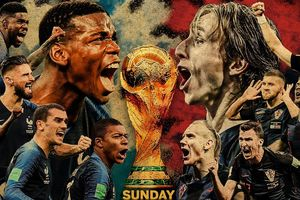 Hai đại diện cho trận chung kết World Cup 2018