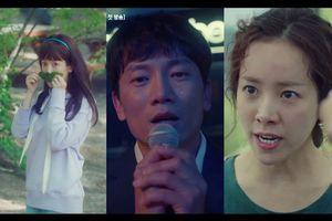 Teaser 'Familiar Wife': Ji Sung khóc sưng mắt trước màn 'thiên nga hóa vịt xấu xí' của Han Ji Min