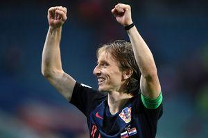 Luka Modric là người hùng của đội tuyển Croatia