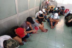 TP.HCM: Gần 100 dân chơi dương tính với ma túy trong quán bar Đông Kinh