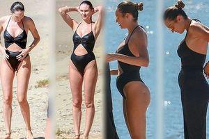 Candice Swanepoel về dáng 'thần tốc' sau 3 tuần sinh con