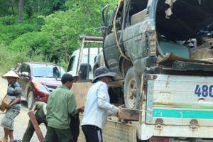 Đắk Nông: Vụ lật xe gỗ lậu khiến 2 người chết: Đình chỉ kíp trực trạm bảo vệ rừng